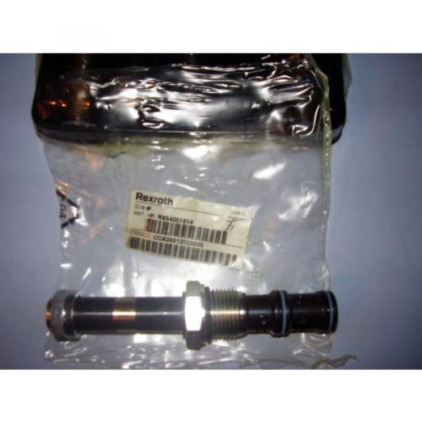 5 BOSCH REXROTH R934001514 HYDRAULIC CARTRIDGE VALVES #2 image