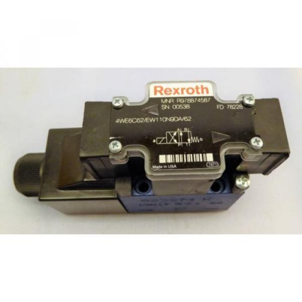 Rexroth/Bosch Solenoid Valve R978874587 #1 image