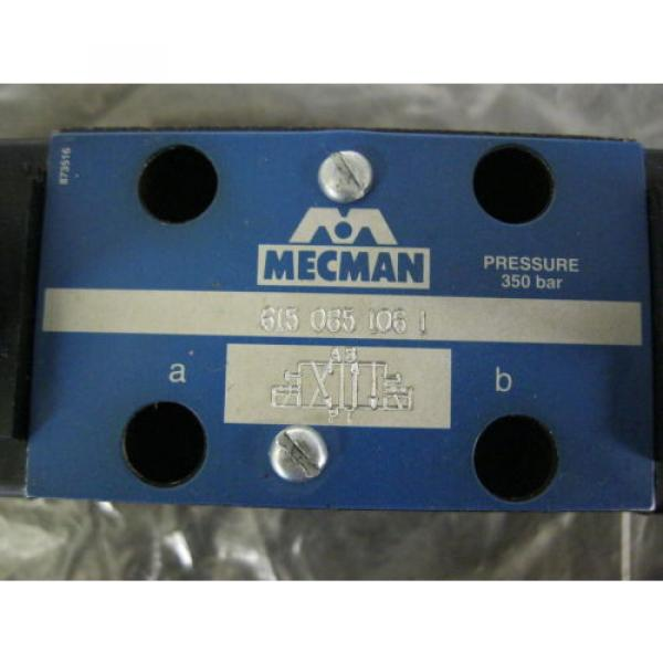 MECMAN REXROTH 615-085-106-1 Directional Hydraulic Control Valve 24vdc Coils #2 image