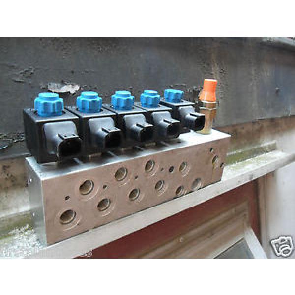 Rexroth Electronic Hydraulic Valve Block 0FE08606OC0101 #1 image