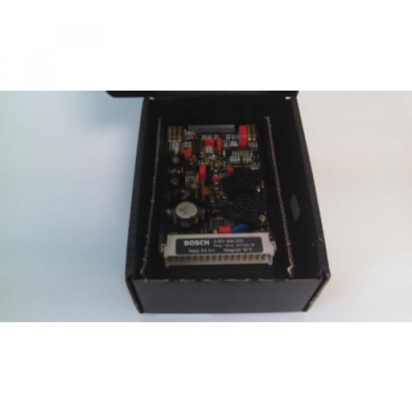 Origin IN BOX REXROTH AMPLIFIER CARD PROPORTIONAL VALVE DRIVER 0-811-405-013 #1 image