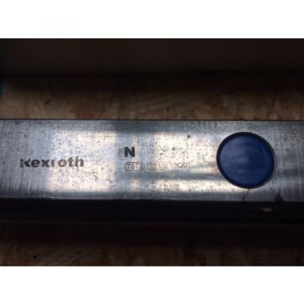 REXROTH  2 Rails  Guide Linear bearing CNC Route  model 7873 7210 13Q1 50#034; #2 image