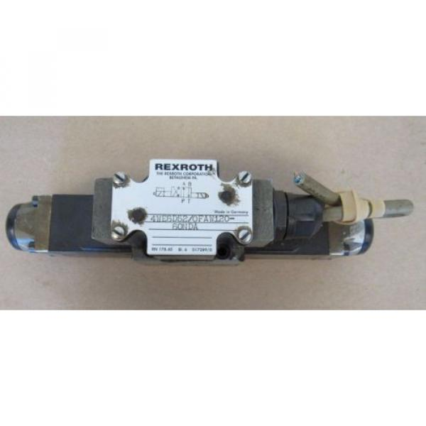 REXROTH VALVE 4WE6D52/0FAW120-60NDA MADE IN GERMANY FREE SHIPPING #1 image