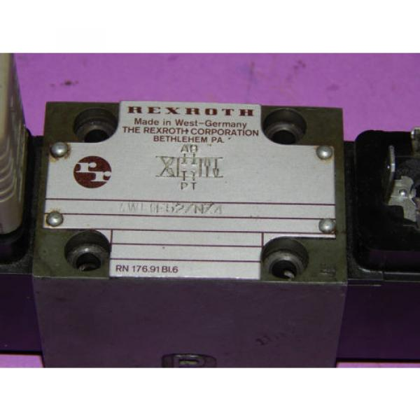 Rexroth 4WE6E52/NZ4 Control Valve 120Volt 60Hz 46VA 4WE6E52NZ4 #5 image