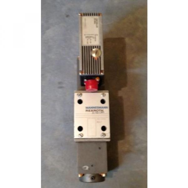 Rexroth 4WRSE-10-V80-32/G24K0/A1VR Servo Valve Mannesmann #1 image