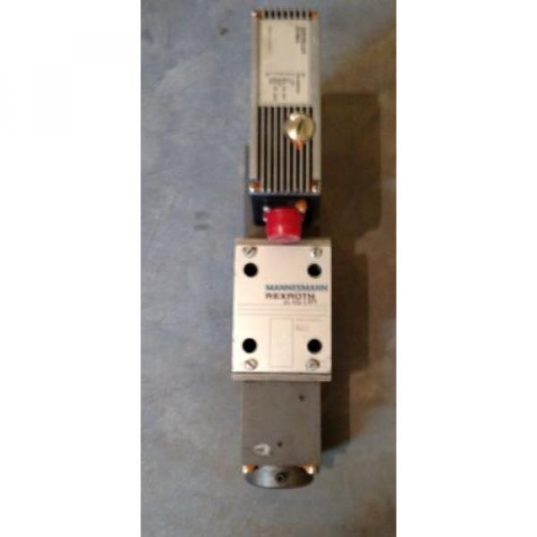 Rexroth 4WRSE-10-V80-32/G24K0/A1VR Servo Valve Mannesmann #2 image