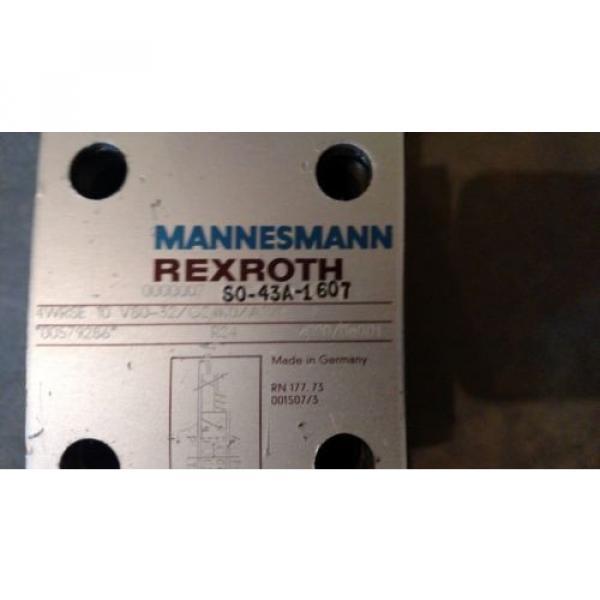 Rexroth 4WRSE-10-V80-32/G24K0/A1VR Servo Valve Mannesmann #4 image