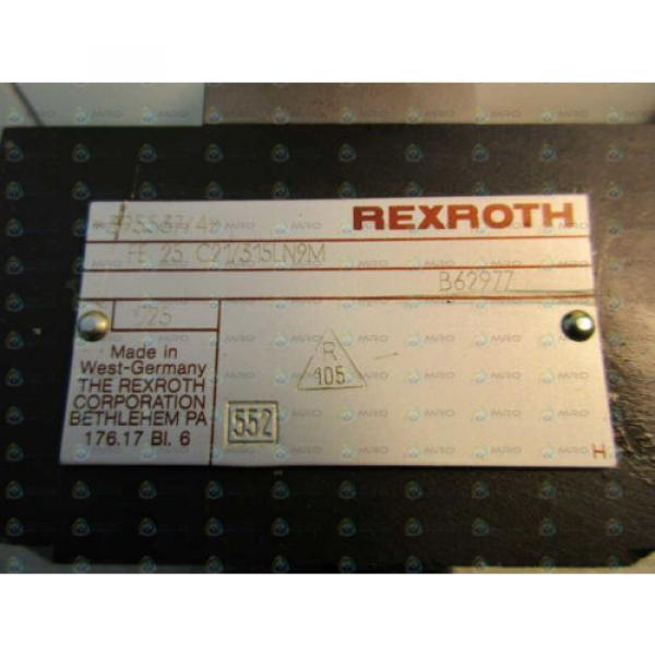 REXROTH 395537/4 FLOW CONTROL VALVE Origin NO BOX #1 image