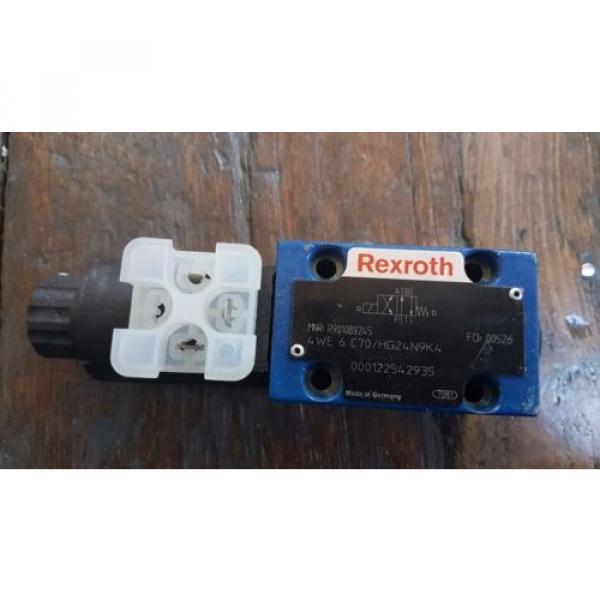 origin Rexroth Hydraulic Control Valve 4WE 6 C7X/HG24N9K4 / R901089245 #1 image