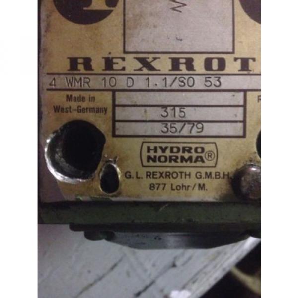 Rexroth 4 WMR 10 D 11/so 53 Limit Valve USED #2 image