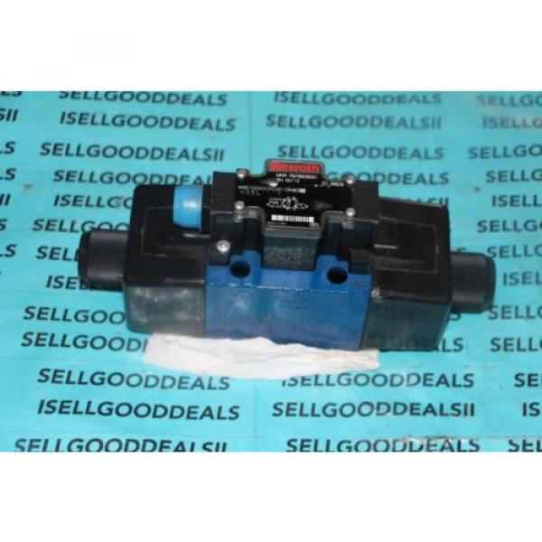 Rexroth 4WE10D40/OFCW110N9D Hydraulic Valve Directional Solenoid R978908591 origin #1 image