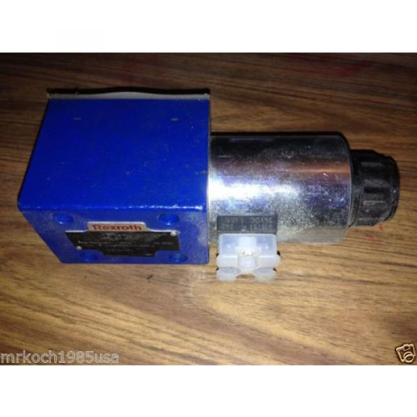NOS REXROTH R900588201 HYDRAULIC DIRECTIONAL CONTROL VALVE #1 image
