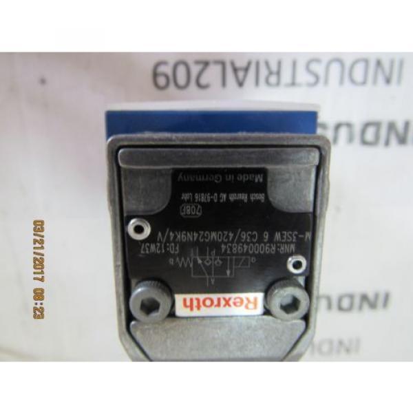 REXROTH R900049834 HYDRAULIC VALVE M-3SEW6C36/420MG24N9K4/V Origin #4 image