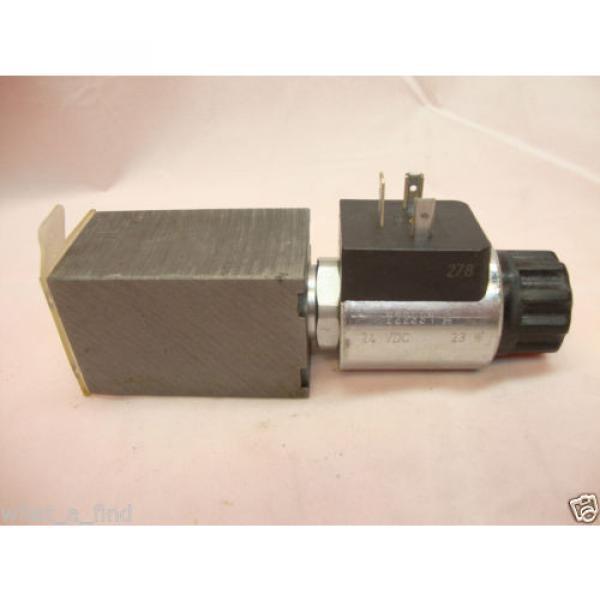 Origin Rexroth M-3 SED 3 UK10/350 C G24 N9K4/V Hydraulic Directional Valve #2 image
