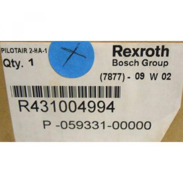 REXROTH, CONTROL AIR VALVE, R431004994, MAX INL 250, 2HA-1 #2 image