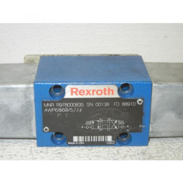 REXROTH R978000835 USED DIRECTIONAL VALVE R978000835 #2 image