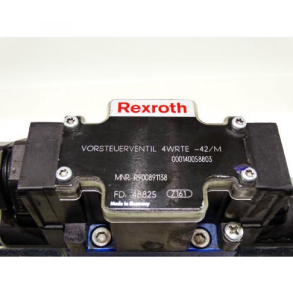 Rexroth Bosch valve ventil 4WRTE-42/M  /  R900891138  +  R900247455   Invoice #4 image