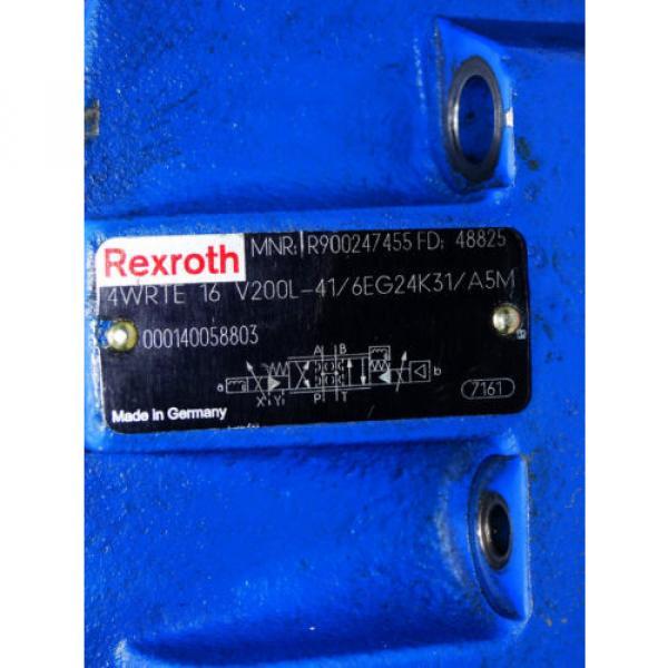 Rexroth Bosch valve ventil 4WRTE-42/M  /  R900891138  +  R900247455   Invoice #5 image