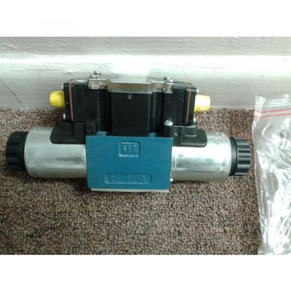 REXROTH  HYDRAULICS 4WE 6 D46-62/OFEG24N9DK 33L Directional Valve USED #3 image