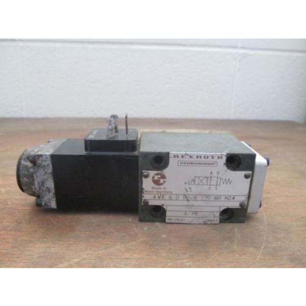 Rexroth Hydronorma Valve 4WE 6 D 50/W 120-60 NZ4 #1 image