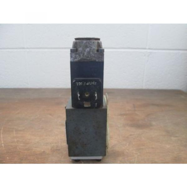 Rexroth Hydronorma Valve 4WE 6 D 50/W 120-60 NZ4 #3 image