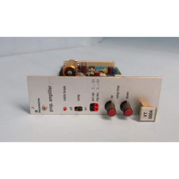 REXROTH Germany Japan PROP AMPLIFIER VT 5004 S23 R1 #1 image