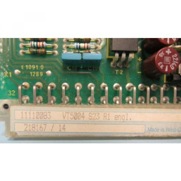 REXROTH Germany Japan PROP AMPLIFIER VT 5004 S23 R1 #4 image