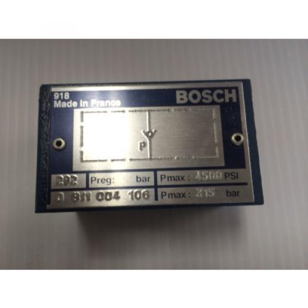 Origin Bosch Rexroth Hydraulic Flow Control Valve 0811004106 - 0 811 004 106 - BNIB #1 image