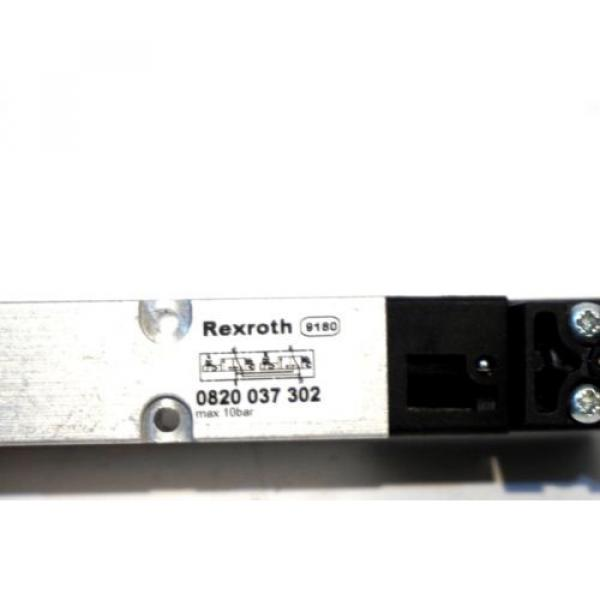 Origin REXROTH 0820-037-302 VALVE 0820037302 #2 image