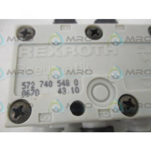 REXROTH 5727405480 2 WAY VALVE Origin NO BOX #4 image
