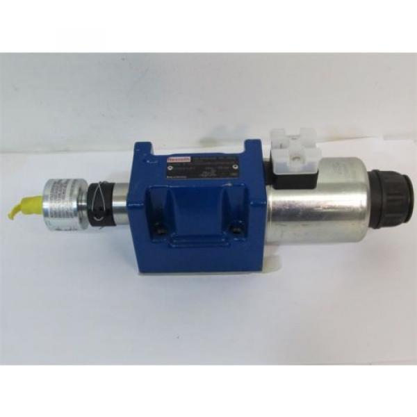 Rexroth 5-4WE 10 Y50 / EG24N9K4QMAG24/N Hydraulic Directional Control Valve #1 image