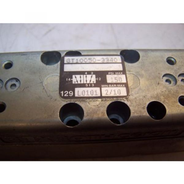 NEW Greece Korea REXROTH PNEUMATIC SOLENOID VALVE GT10050-3340  150 PSI MAX #2 image