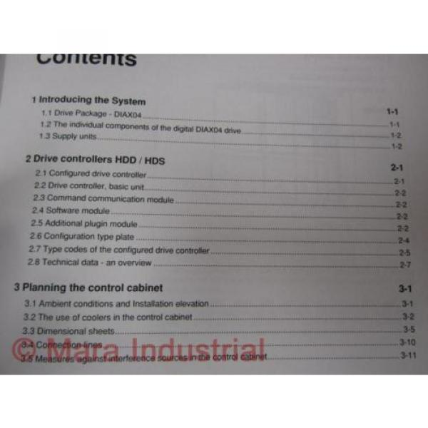 Rexroth China Egypt 274944 Manual DIAX04 HDD And HDS #5 image