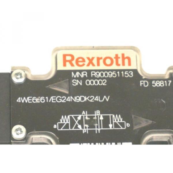 NEW Canada Australia REXROTH R900951153 DIRECTIONAL CONTROL VALVE 4WE661/EG24N9DK24L/V #4 image