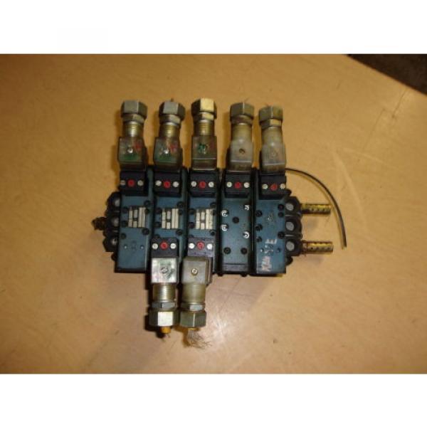 Rexroth Ceram GT10061-2400 5 Pneumatic Valve Set FREE SHIPPING #1 image
