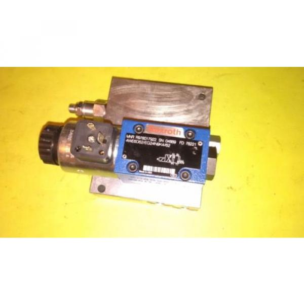 Rexroth 5 port PL Valve Assembly Hydraulic Circuit Technology 33963 #1 image