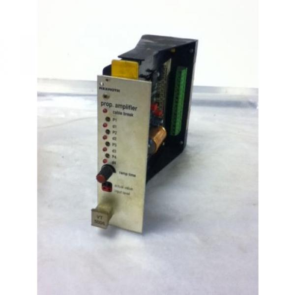 USED Australia Egypt REXROTH VT5006-S16-R1 AMPLIFIER MODULE #2 image