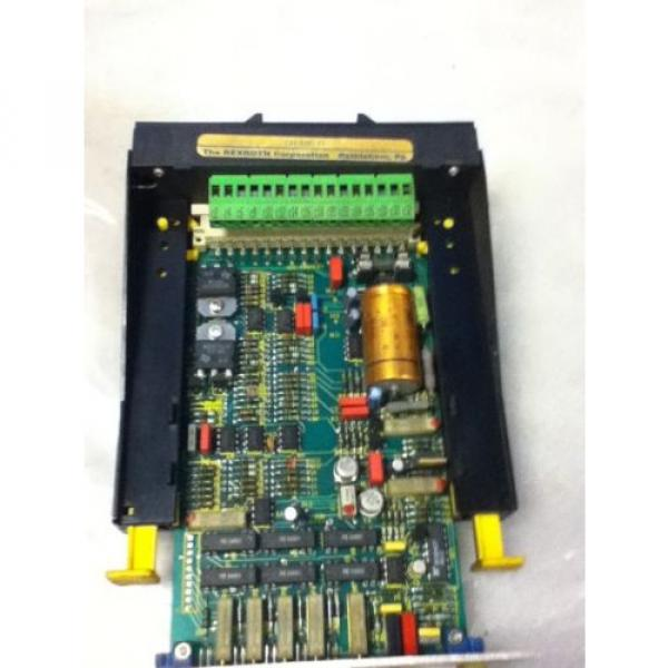 USED Australia Egypt REXROTH VT5006-S16-R1 AMPLIFIER MODULE #4 image
