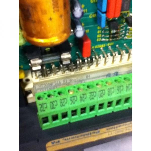 USED Australia Egypt REXROTH VT5006-S16-R1 AMPLIFIER MODULE #5 image