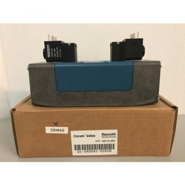 NIB Bosch Rexroth GS-040042-02626 R432006290 Pneumatic Directional Valve #1 image