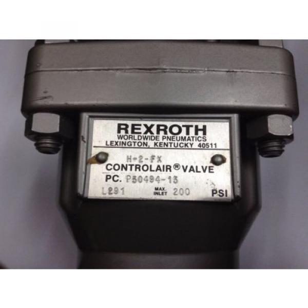 H-2-FX  P50494-15  R431002651 REXROTH H-2 Controlair® Lever Operated Valve #4 image