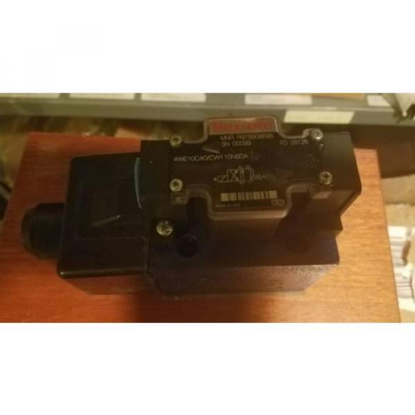 Rexroth 4WE10C40/CW11ON9DA R978908696 Hydraulic Valve origin #2 image