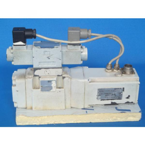 Mannesmann Egypt Canada Rexroth 4WRKE10W4-50-2X/6A24Z9/D3M Hydraulic Valve Assembly #2 image