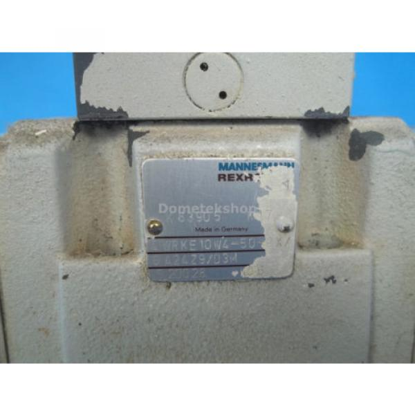 Mannesmann Egypt Canada Rexroth 4WRKE10W4-50-2X/6A24Z9/D3M Hydraulic Valve Assembly #3 image