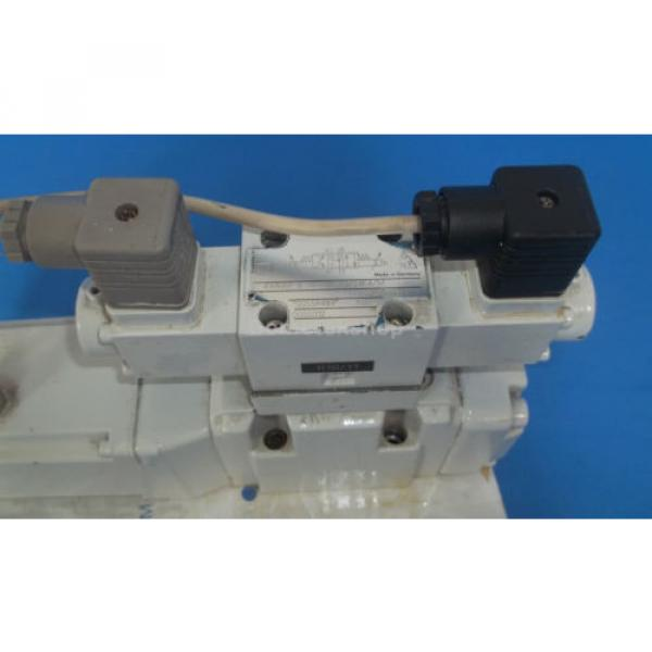 Mannesmann Egypt Canada Rexroth 4WRKE10W4-50-2X/6A24Z9/D3M Hydraulic Valve Assembly #5 image