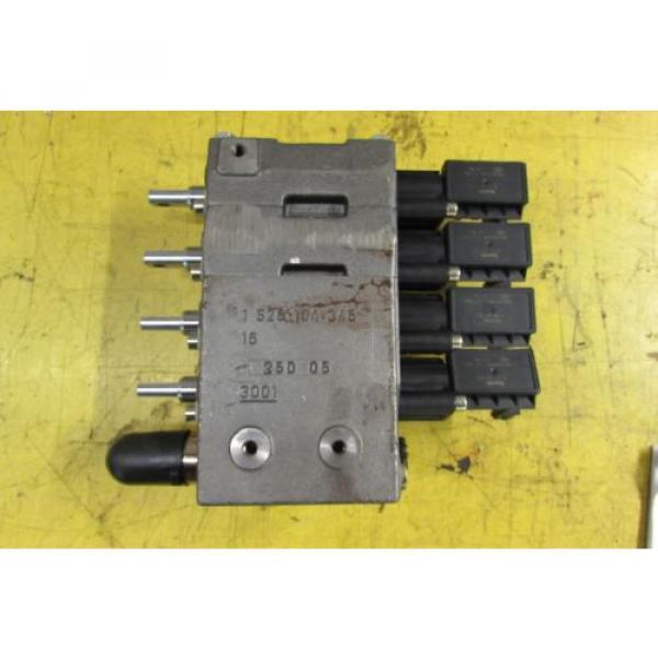 Rexroth Hydraulic Control Block Remote Valve origin No Box #2 image