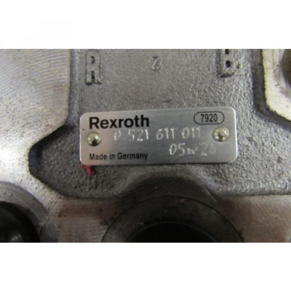 Rexroth Hydraulic Control Block Remote Valve origin No Box #3 image