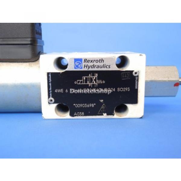 Rexroth 4WE 6 Y2-62/EG24K4QMBG24 SO293 Hydraulic Valve #3 image