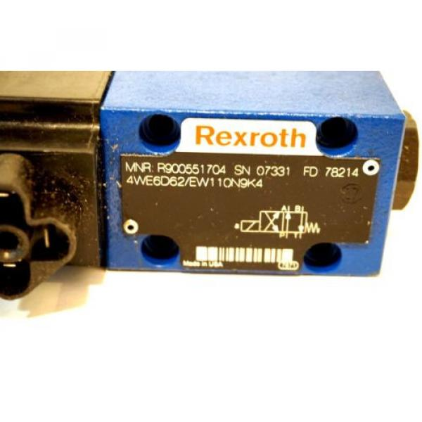 Origin REXROTH R900551704 HYDRAULIC VALVE 4WE6D6X/EW110N9K4 #2 image