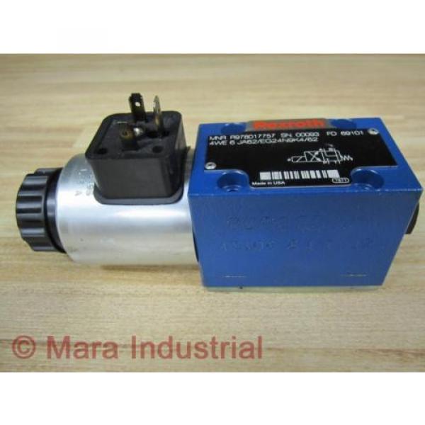 Rexroth Bosch R978017757 Valve 4WE 6 JA62/EG24N9K4/62 - origin No Box #1 image